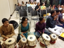 Vijayadashami, Vidyarambham. Chinmaya Kalajyoti - Tabla students