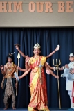 "Bala Vihar Grade 5 presentation ""The Legend of Mahishasura Mardini"""