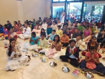 Sarasvati Puja by all Balavihar students