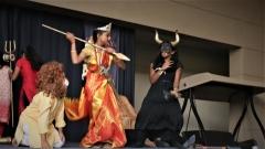 "Bala Vihar Grade 5 presentation ""The Legend of Mahishasura Mardini"""