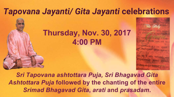 Tapovanam JayantiGita Jayanti (1)